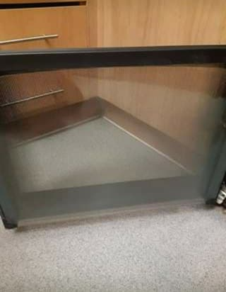 Glass Fireplace and oven cleaner