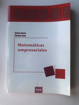 Libro matemáticas empresariales
