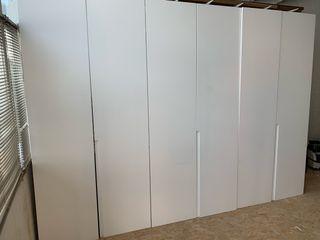 Puertas de armario lacadas