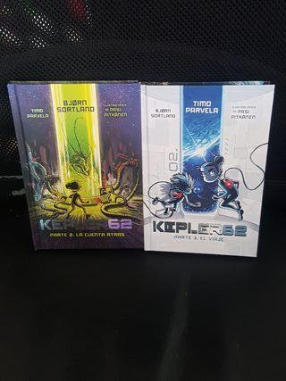 libros kepler62 parte 2 y parte 3.