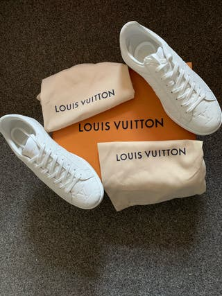 Men's UK 7 Louis Vuitton Trainers White