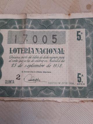 vendo décimos de loteria