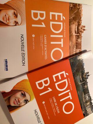 Libros NUEVOS Francés Édito B1