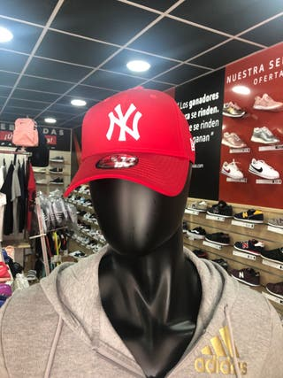 Gorra New York Rojas