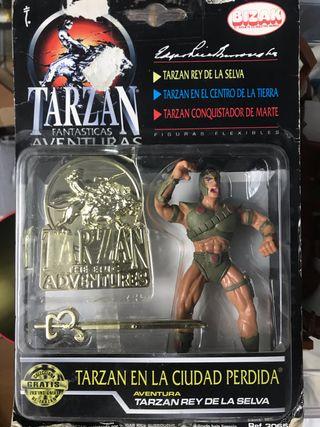 Figura de Tarzan en Blister