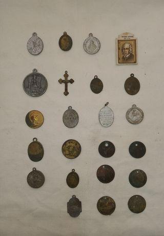 Medallas religiosas antiguas