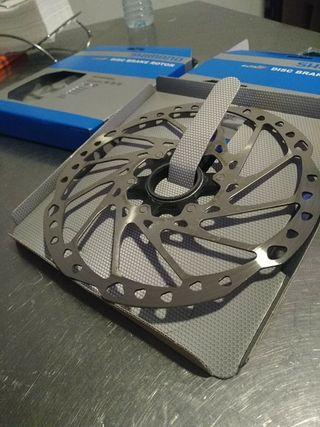 discos Shimano SLX 203mm centerlook