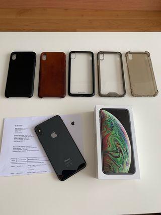 IPhone XS MAX 256Gb garantía y factura Apple Store
