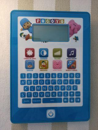 Tablet Pocoyo, multiples funciones aprendizaje