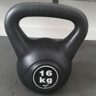 kettlebell 16kg y 20kg