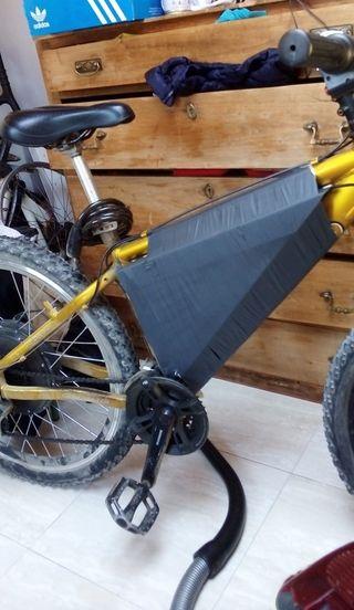 Bicicleta electrica acelerador 1000W 48v