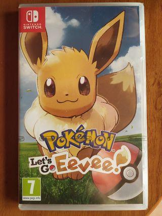 NUEVO Pokemon Let's Go Eevee Nintendo Switch