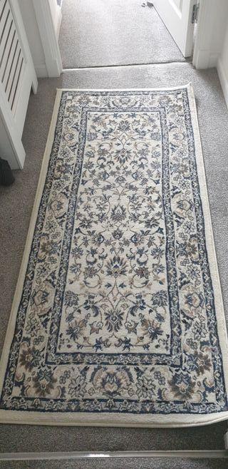Ikea rugs.