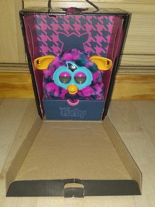 NUEVO!! Furby Boom estilo estampado rosa y azul