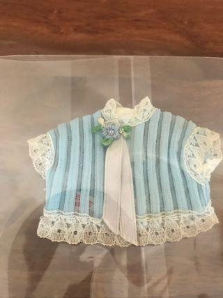 Blusa azul antigua de Barriguitas