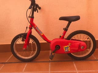 """Bicicleta infantil de 14"""""""