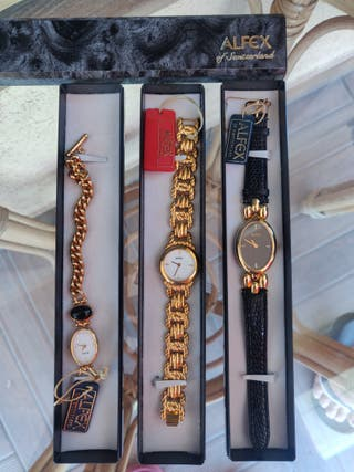 Relojes mujer Alfex suiza