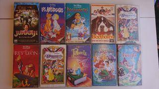 10 películas en VHS