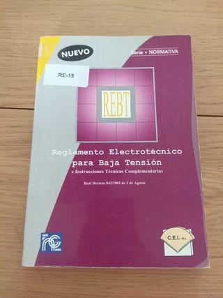 Reglamento electrotecnico para baja tensión