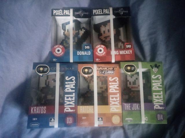 Pack de 5 pixel pals
