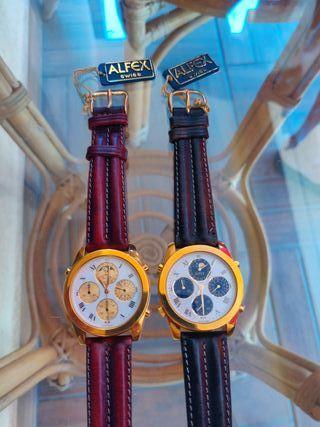 Reloj Alfex suiza hombre