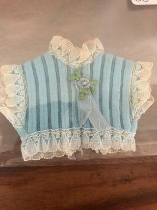 Blusa azul con cinta azul Barriguitas