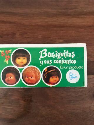Catálogo Barriguitas y sus conjuntos antiguo