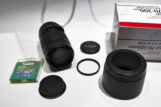Canon EF 70-300mm f/4-5.6 Is USM lente