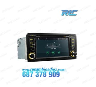 "RADIO DVD GPS LCD TÁCTIL 7"" AUDI A3 8P ANDROID 8.1"