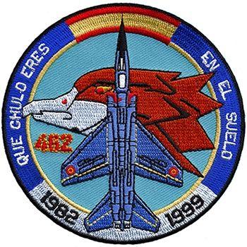 Parches conmemorativos aviación.
