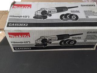 Amoladora angular Makita GA4530X2