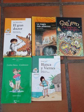 libros de 9 años