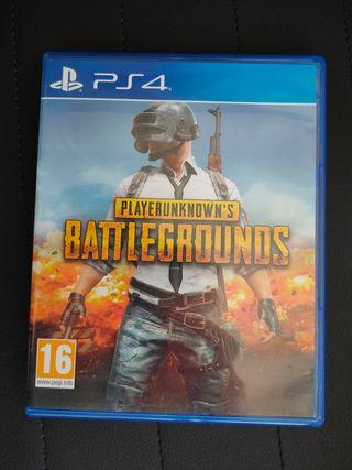 PLAYERUNKNOWN'S BATTLEGROUNDS PUG PS4