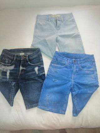 Pantalones cortos niño.