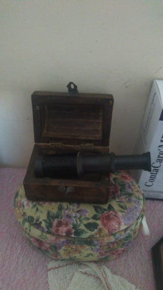 telescopio muy antiguo