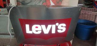 Letrero luminoso Levi's