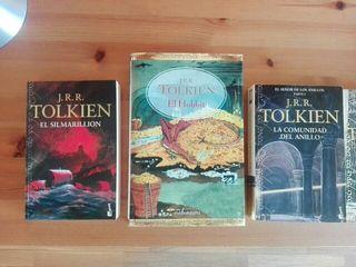 Libros Señor de los Anillos, Hobbit, Silmarillion