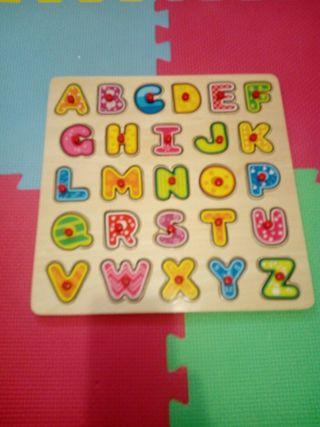 puzzles madera lote