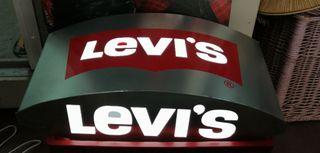 Letrero luminoso original de Levi's