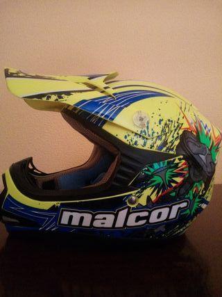Casco Motocross YS niño