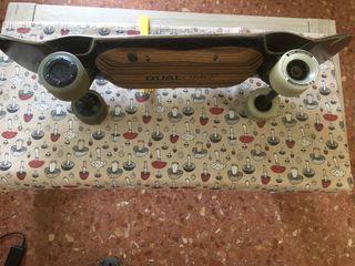 skate eléctrico cóncavo cruiser bustin bords