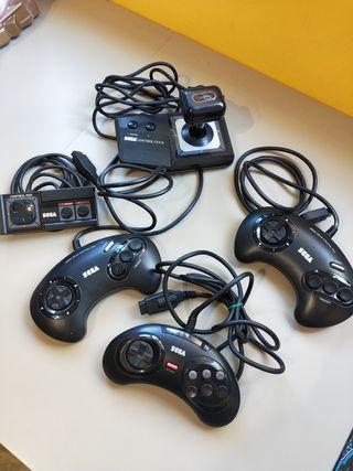 mandos megadrive y máster system