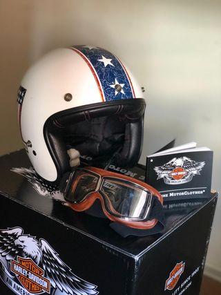 Pack casco Harley & Gafas moto