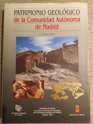 patrimonio geologico de la comunidad de madrid