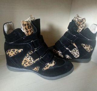 Botitas leopardo