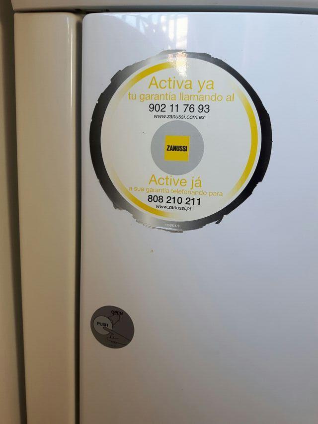 secadora Zanussi condensación