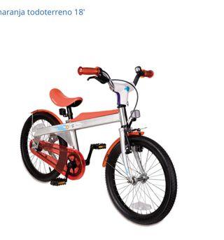 """Bicicleta infantil IMAGINARIUM 18"""" como NUEVA"""