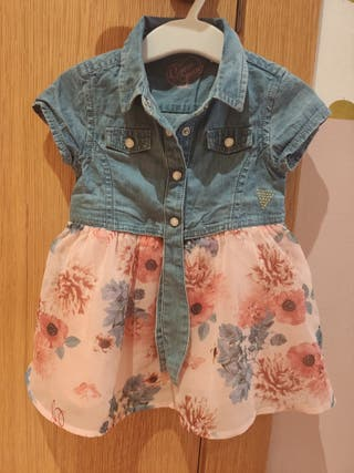 Vestido Guess 6-9 meses