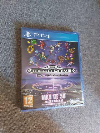 Juego PS4 MEGA DRIVE CLASSICS Sega NUEVO