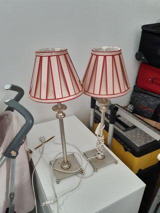 Juego de lámparas de mesilla